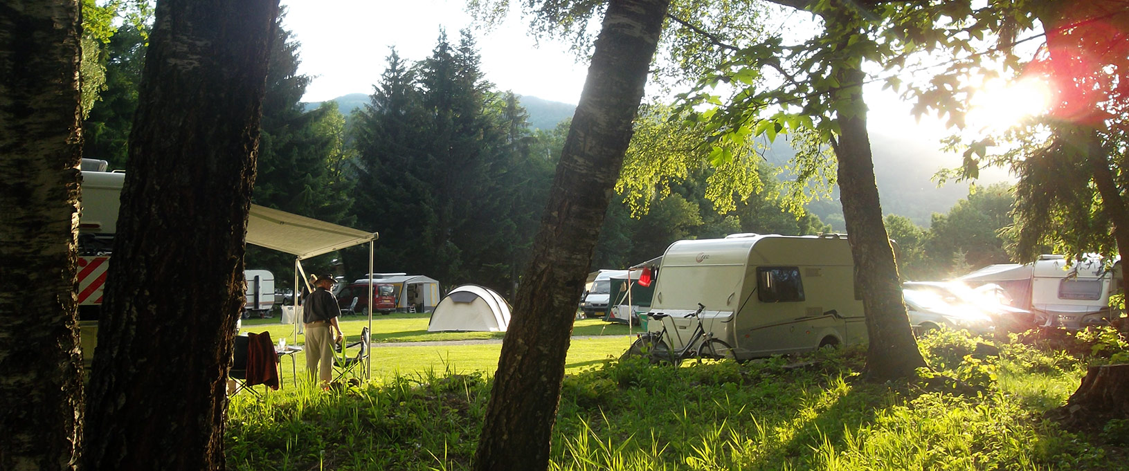 Accueil Camping Miage 05