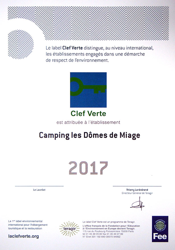 Camping Clefverte 2017